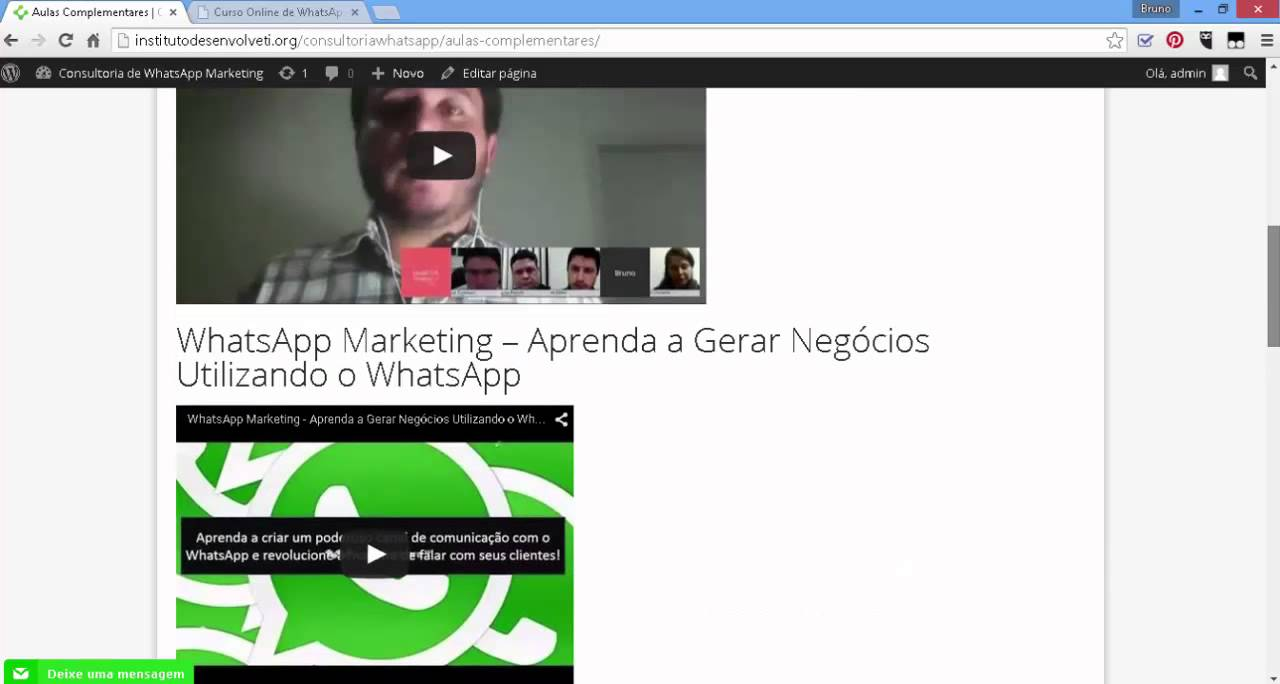 Review do Curso de Como Vender Consultoria de WhatsApp Marketing
